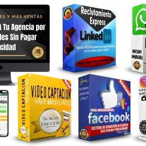 Pack Atracción Digital Inmobiliario
