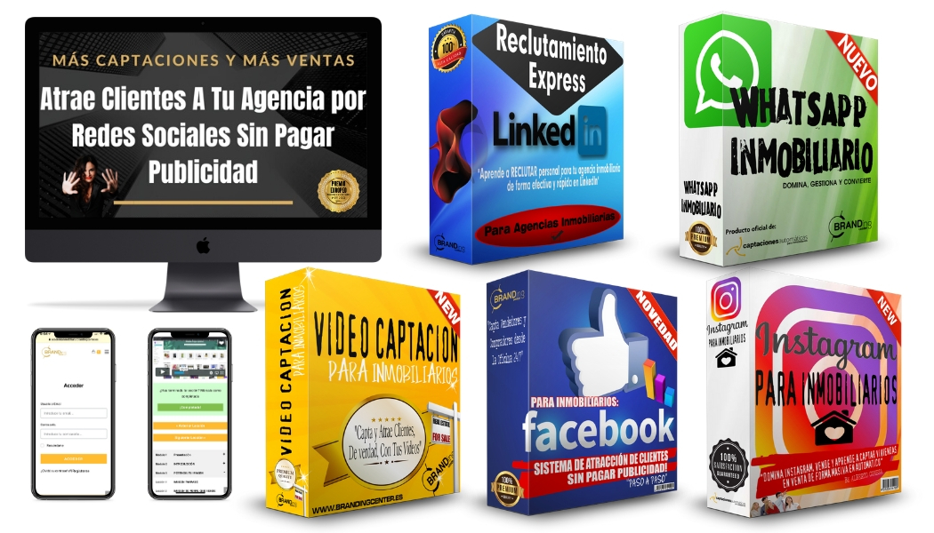 Pack Digital Inmobiliario